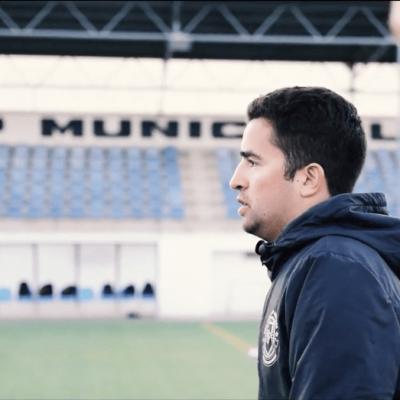 Cristóbal Jiménez: Estadio Español, Chile