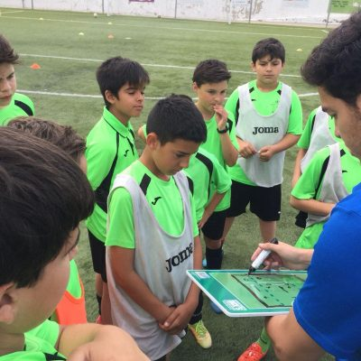 The Pre-Match Routine in Youth Football
