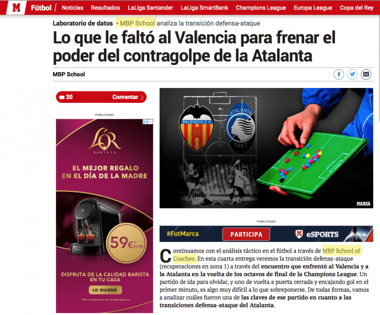 Valencia Prensa MBP School of coaches