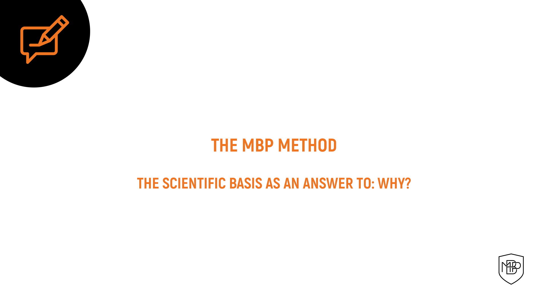 You are currently viewing Deepening in the mbp method: why train certain contents?